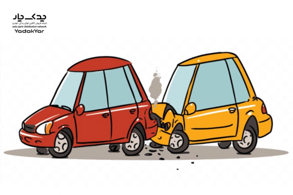مقصر تصادف از پشت کیست؟