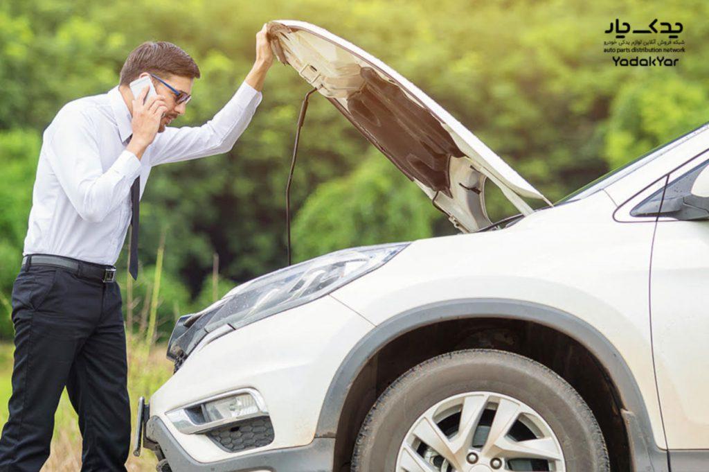 استارت نخوردن خودرو در سراشیبی