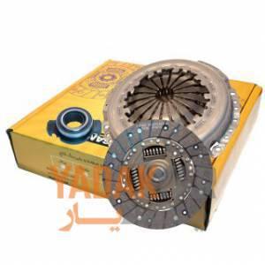 دیسک و صفحه کلاچ پژو 206 تیپ 5 با بلبرینگ (کیت کلاچ) شایان صنعت