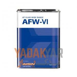 روغن گیربکس آیسین AFW-VI حجم 4 لیتر