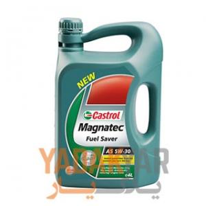 روغن موتور  5W30 کاسترول مگناتیک fuel saver حجم 4 لیتر