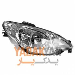 چراغ پژو 206 هاچ بک تیپ 3 جلو راست کروز - ایران