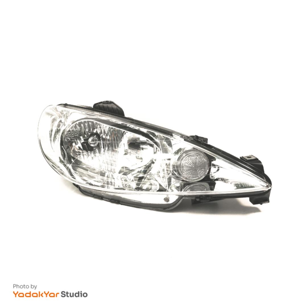 چراغ پژو 206 هاچ بک تیپ 6 جلو راست کروز - ایران