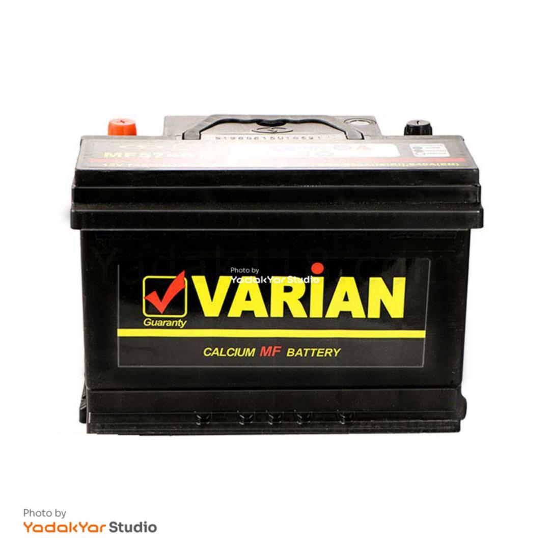 باتری  74 آمپر واریان صبا باتری