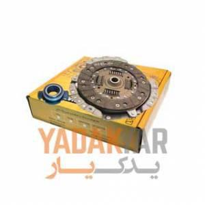 دیسک و صفحه کلاچ پژو 405 با بلبرینگ (کیت کلاچ) شایان صنعت